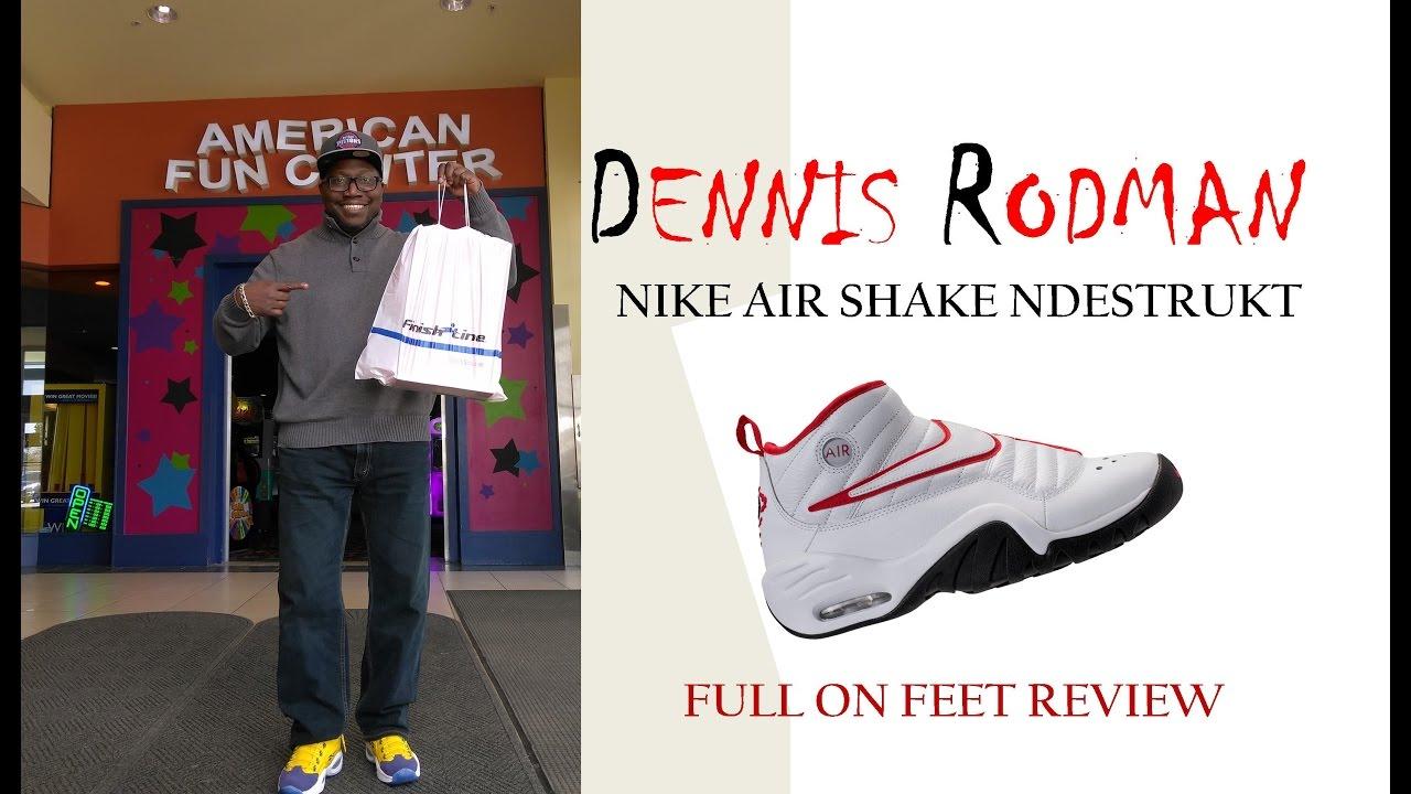 sports shoes 9c42d 5e9df DENNIS RODMAN NIKE AIR SHAKE NDESTRUKT REVIEW