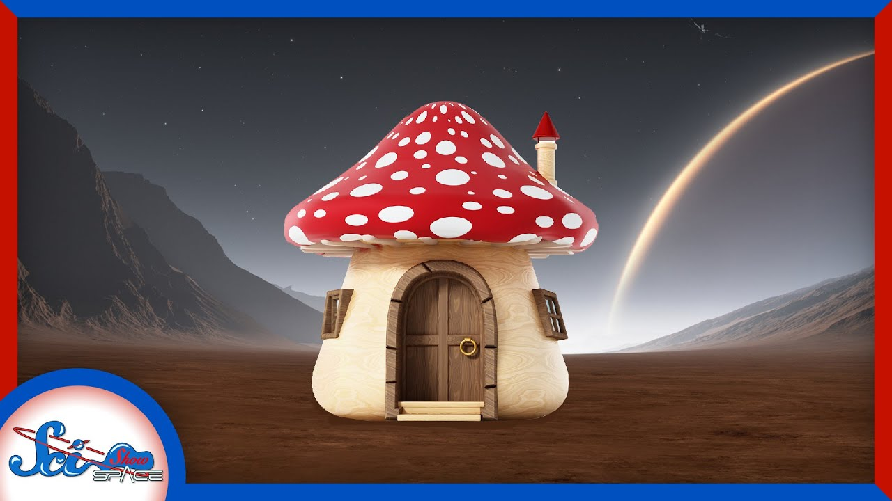 Will Space Settlers Live in Fungi Buildings?