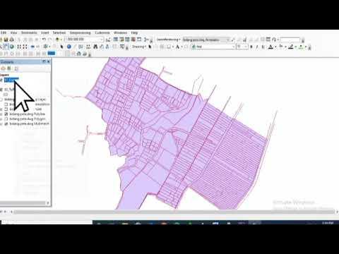 Modul 2 Pemetaan Digital: Konversi Dari .dwg Ke .shp