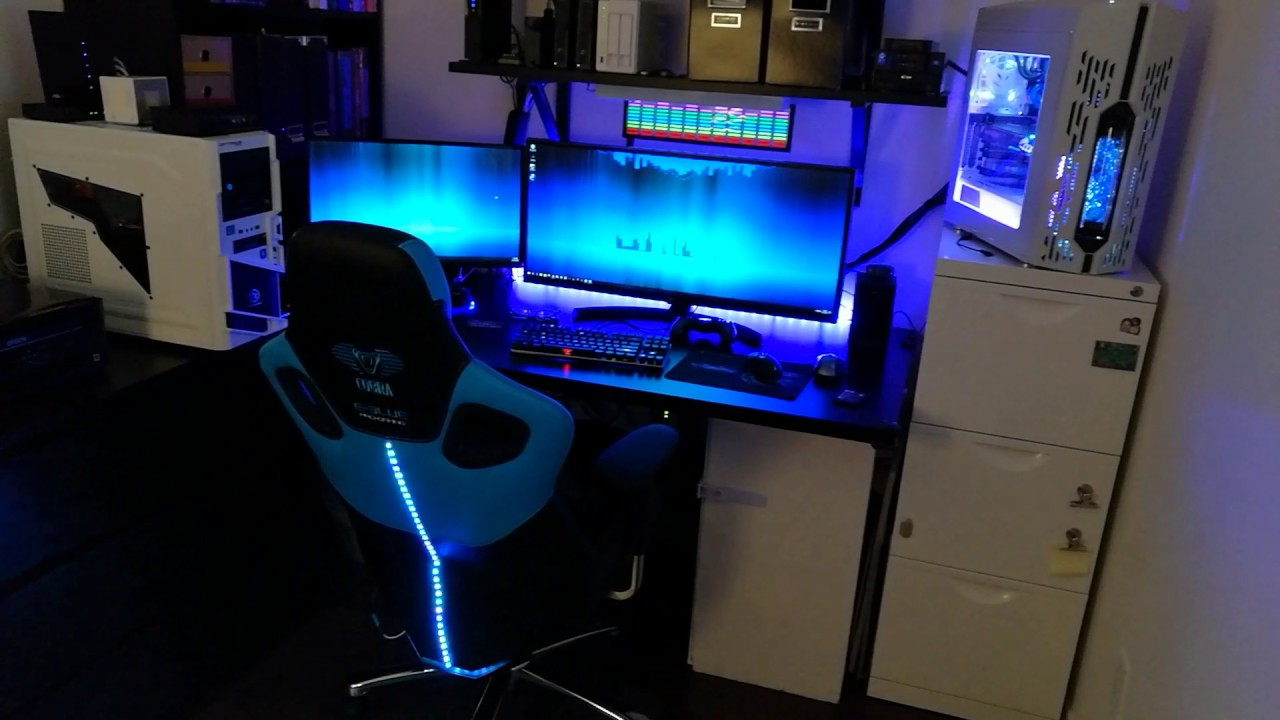 DIY Gaming Chair LED  YouTube
