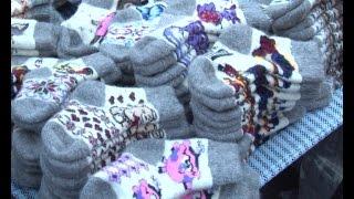 Смотреть видео Рассказовские носки