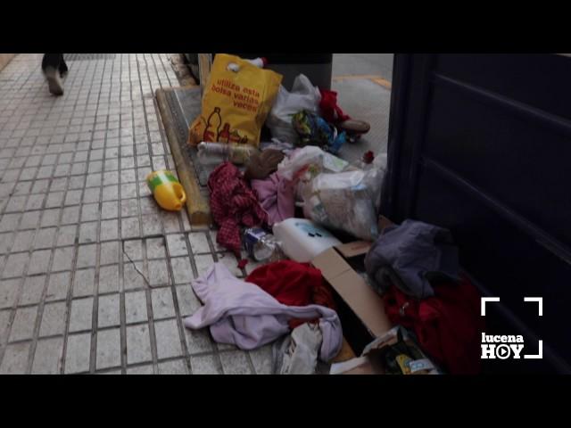 Vídeo: La sustitución temporal de contenedores soterrados por otros de superficie provoca malestar en algunas calles de la ciudad