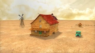 Courage The Cowardly Dog House In 3D (Day)