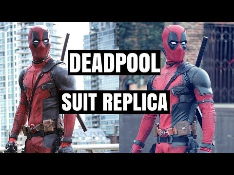 Deadpool Replica Suit