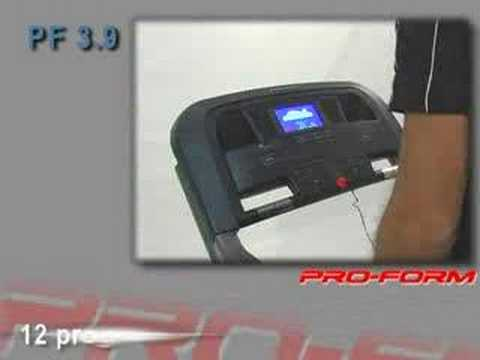 Fitness Proform 3 9 Tapis Roulant Pro Form Youtube