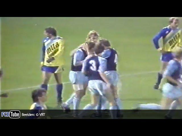 1986-1987 - Jupiler Pro League - 06. SK Beveren - Club Brugge 2-2