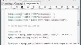 User Password Change Tutorial in PHP - Part 2 [Hindi]