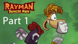 Rayman Jungle Run - Gameplay Playthrough Part 1 | WikiGameGuides