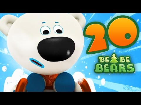 Bjorn and Bucky - Be Be Bears - Episode 20 - polar bear kids cartoon - Moolt Kids Toons Happy Bear