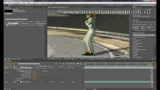Увеличение отдельных объектов на видео в AE