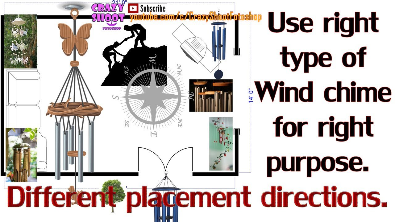 Wind Chimes Different Types Number Of Rods And Placement Direction
