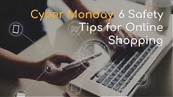 6 Tips to Stay Safe While Shopping Online on Cyber Monday