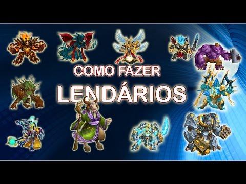 😁Monster Legends:Como Fazer Lendários no Monster Legends