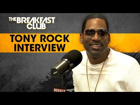 Tony Rock Talks Black Card Revoked, Mo'Nique, Charlie Murphy + More