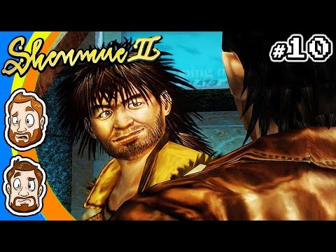 Shenmue II - PART 10: Salad Boyz | CHAD & RUSS |
