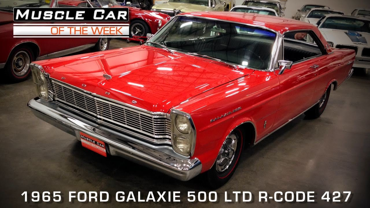 Muscle Car Of The Week Video Episode #85: 1965 Ford LTD R-Code 427 ...