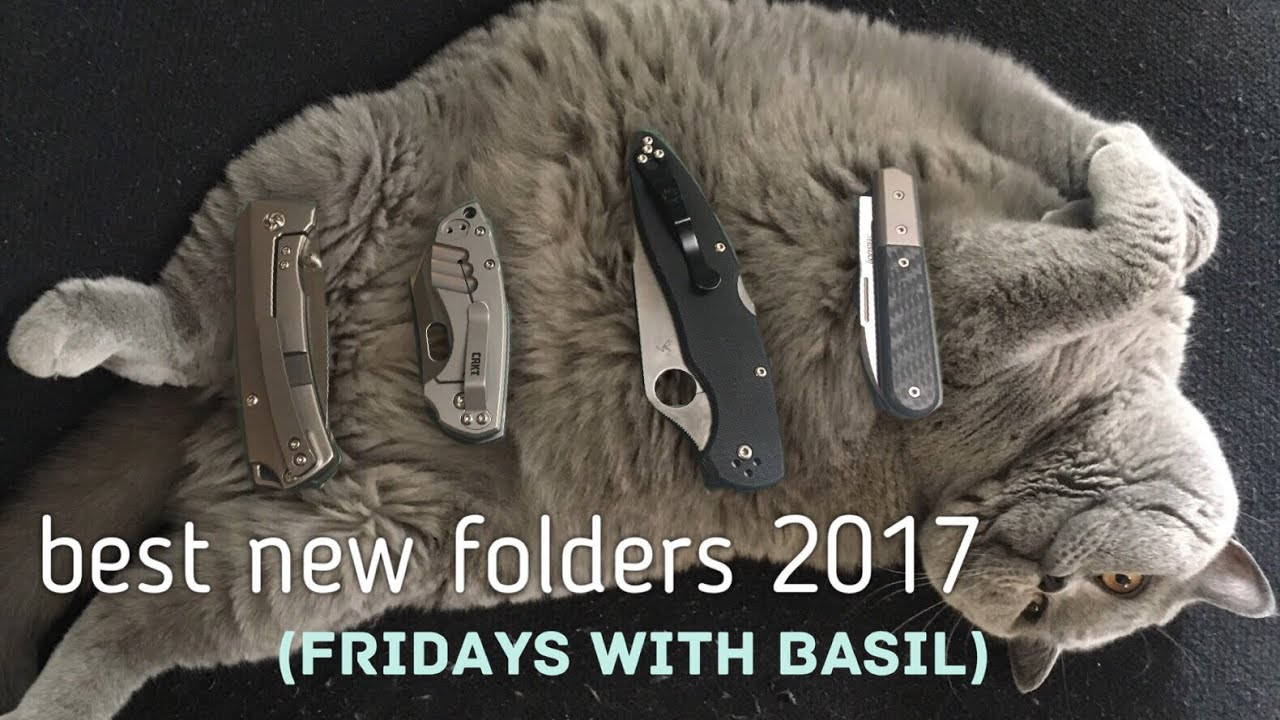 Top 5 Best New Folding Knives of 2017 - FWB