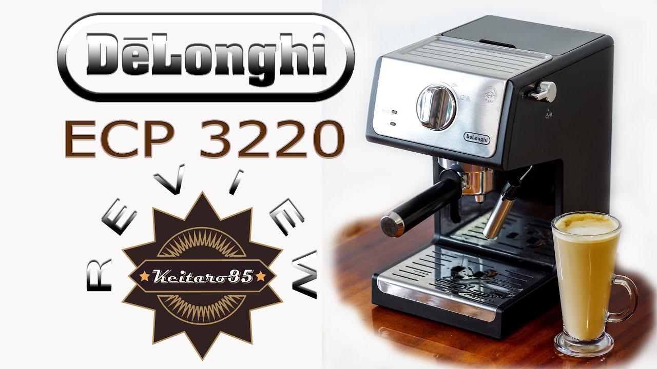 ОБЗОР / REVIEW кофеварки DeLonghi ECP 3220 (переделка под 220 в)