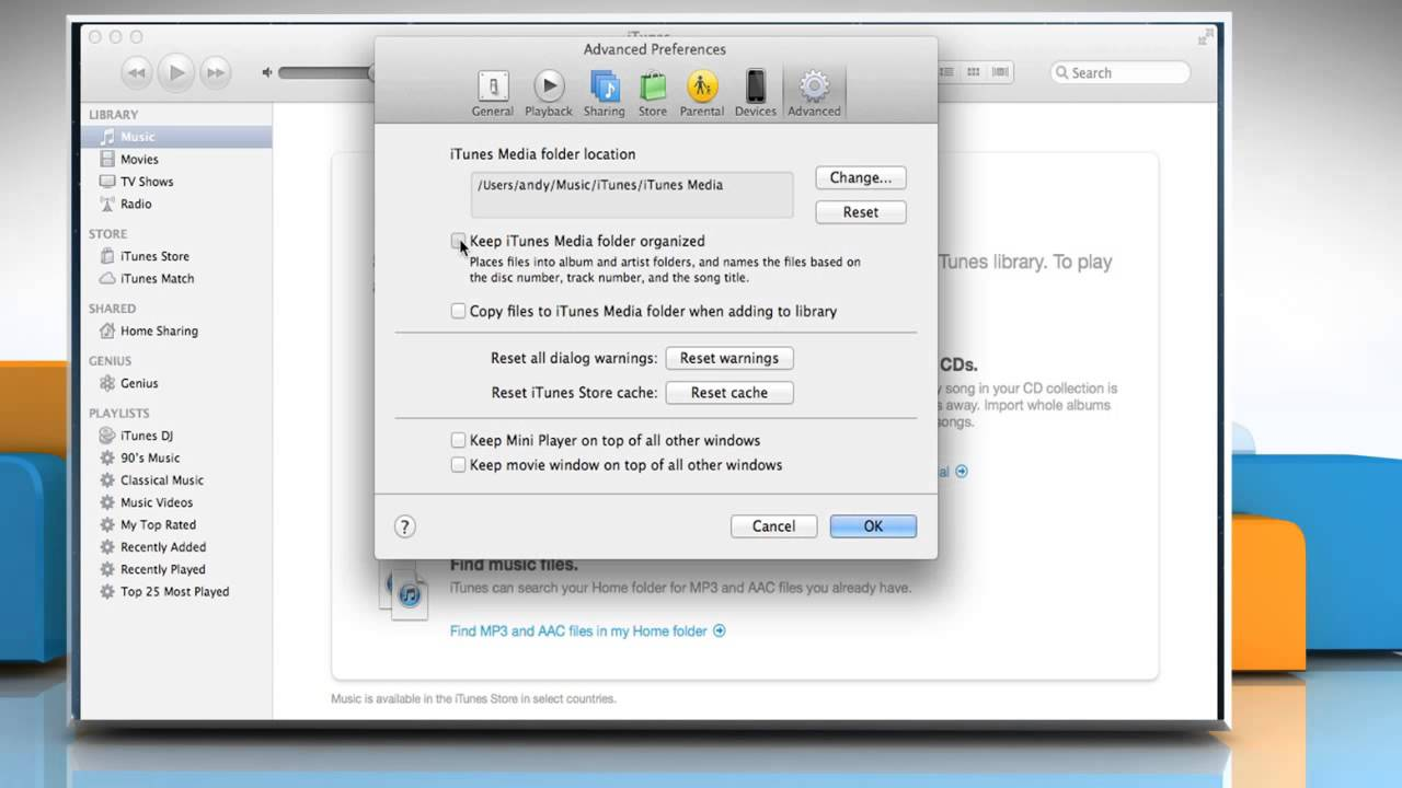 how to find itunes music files on pc
