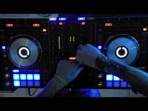 NEW EDM Rave DJ MIX Pioneer DDJ-SX - Falling From The Moon