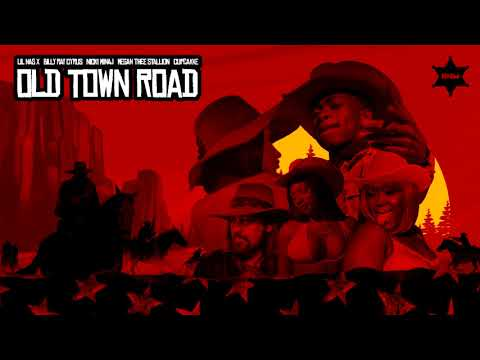 Lil Nas X - Old Town Road feat Billy Ray Cyrus Nicki Minaj Megan Thee Stallion & CupcakKe