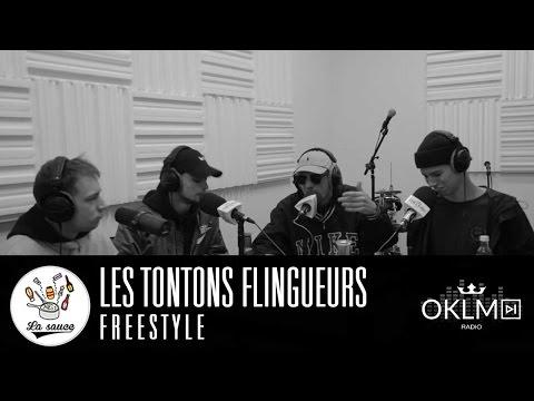 Youtube: La Sauce – Freestyle Live: Les Tontons Flingueurs sur OKLM Radio