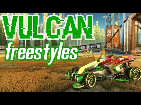 Rocket League - Vulcan Freestyles w/ VoiD