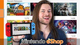 10 New Nintendo Switch Eshop Games Worth Buying!