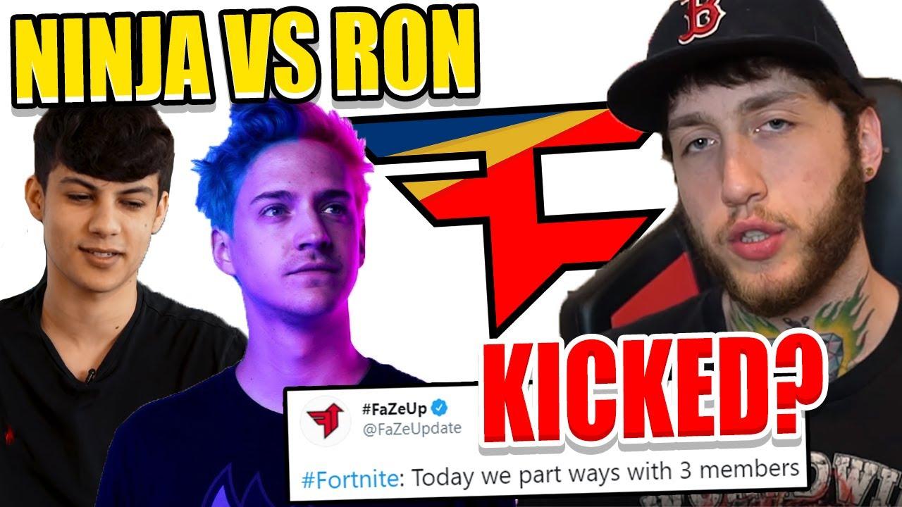 FaZe Clan RELEASE 3 PROS! Ninja Reveals FOUR NEW Adidas Shoes! Ron Vs Ninja RAP BATTLE!