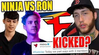 FaZe Clan RELEASE 3 PROS! Ninja Reveals FOUR NEW Adidas Shoes! Ron Vs Ninja RAP BATTLE!