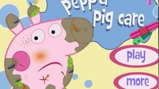 Свинка Пеппа ухаживает за животными. Смотреть онлайн