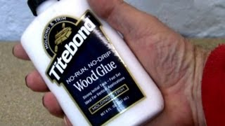 Titebond End Grain Glue Test