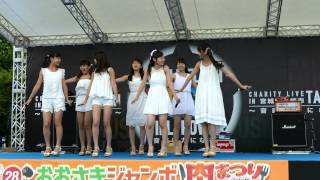 2015年8月23日 宮城県の「おおさきジャンボ肉まつりinたじり」にて。