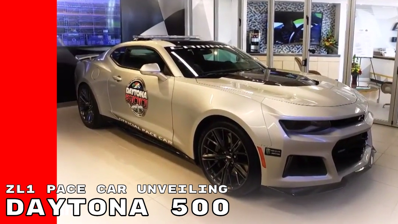 2017 Camaro Zl1 Pace Car At Daytona 500 Driven By Jeff