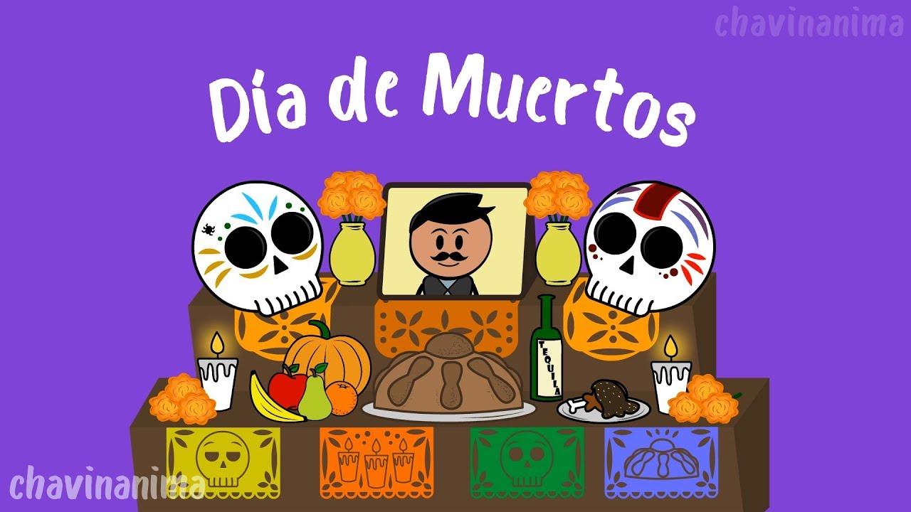 Imagenes De Dia De Muertos Animados