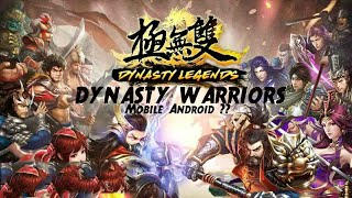 Dynasty Legends || Android ARPG Gameplay