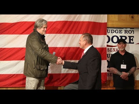 """🔴 LIVE: Judge Roy Moore """"Drain the Swamp"""" Election Eve Rally with Steve Bannon"""