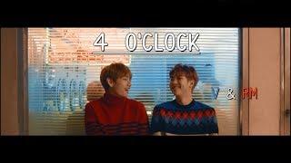 Gambar cover (네시) 4 O'CLOCK - RM & V [FMV + LYRICS HAN | ROM | ENG]
