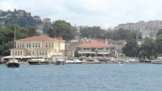 Стамбул Прогулка по Босфору, Плавание 1-е, часть 3