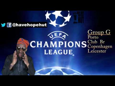 Champions League Group G Preview -  Copenhagen, Club Brugges, FC Porto, Leicester City  #lcfc