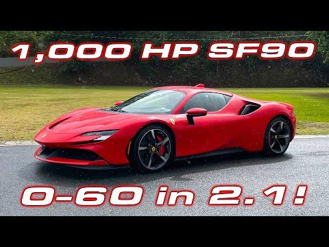 BEATS my 765LT! * FIRST EVER Ferrari SF90 Stradale Performance Testing * 1/4 Mile, 0-60 MPH