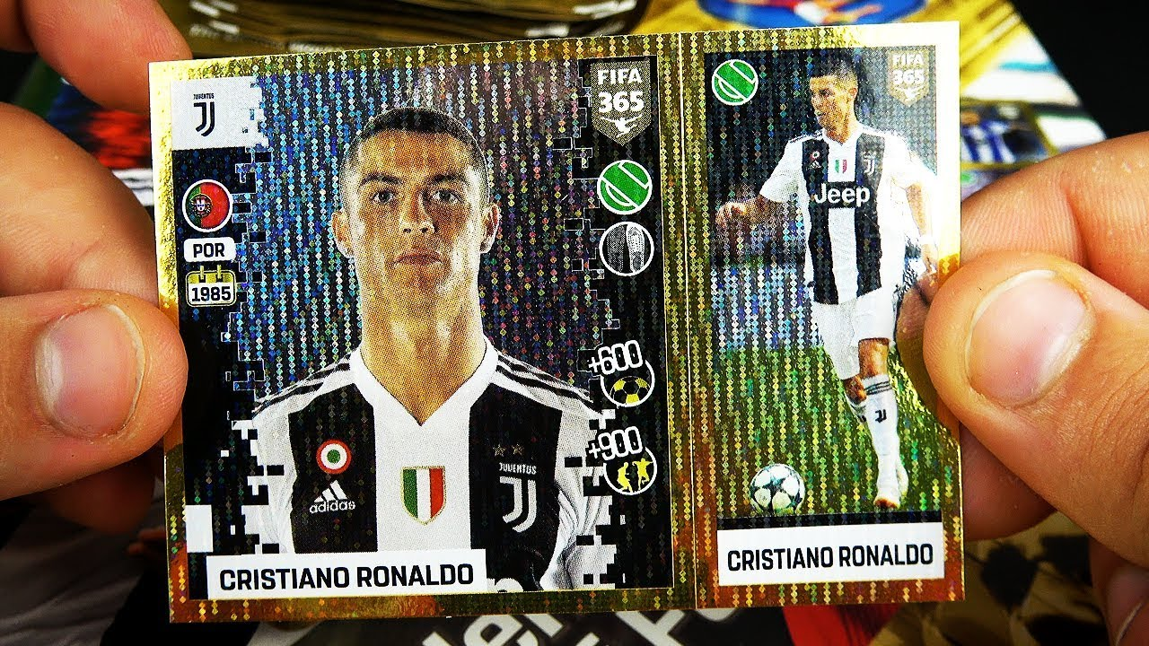 Living Football Sticker 2 Panini FIFA365 2019 Intro