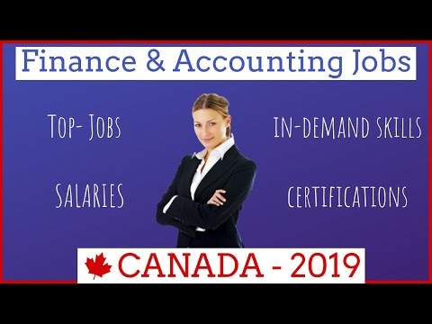 Finance & Accounting Jobs In Canada | Salaries, Certifications, In-demand Skills