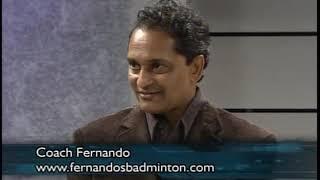 South Asian TV Badminton- Coach Fernando interview with Binder Singh