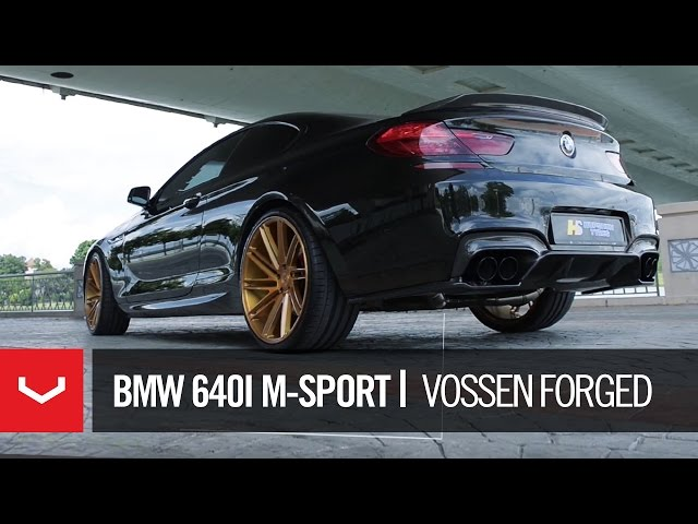BMW 640i M-Sport | HupShun Tyres | Vossen Malaysia | VPS-307T