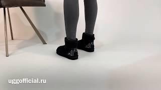 Обзор новинки 2020 UGG Mini Studded Bling угги со стразами и шипами