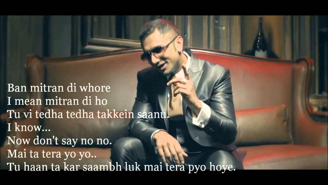 brown rang lyrics yo yo honey singh hd p youtube