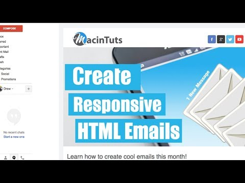 How To Create An HTML Email In Gmail