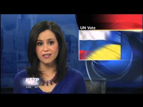 Russia Vetoes UN Resolution on Crimea's Future