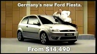 "Ford Fiesta 2004 TV ad (Australia) ""I See You Baby"""